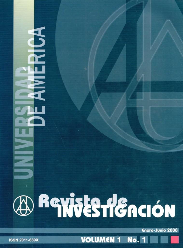 Vol.1 No.1 Enero – Junio 2008