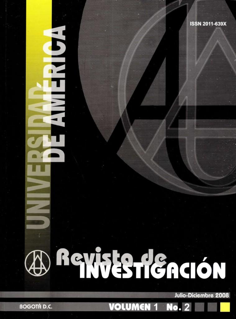 Vol.1 No.2 Julio – Diciembre 2008