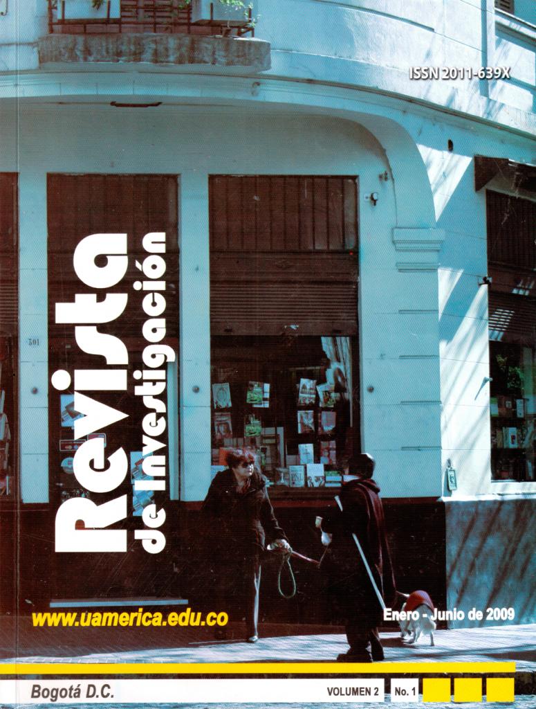 Vol.2 No.1 Enero – Junio 2009