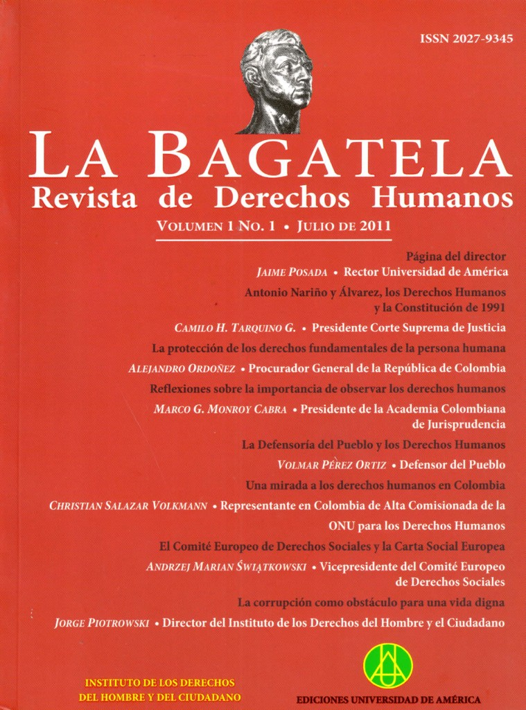 Vol.1 No.1 Julio 2011