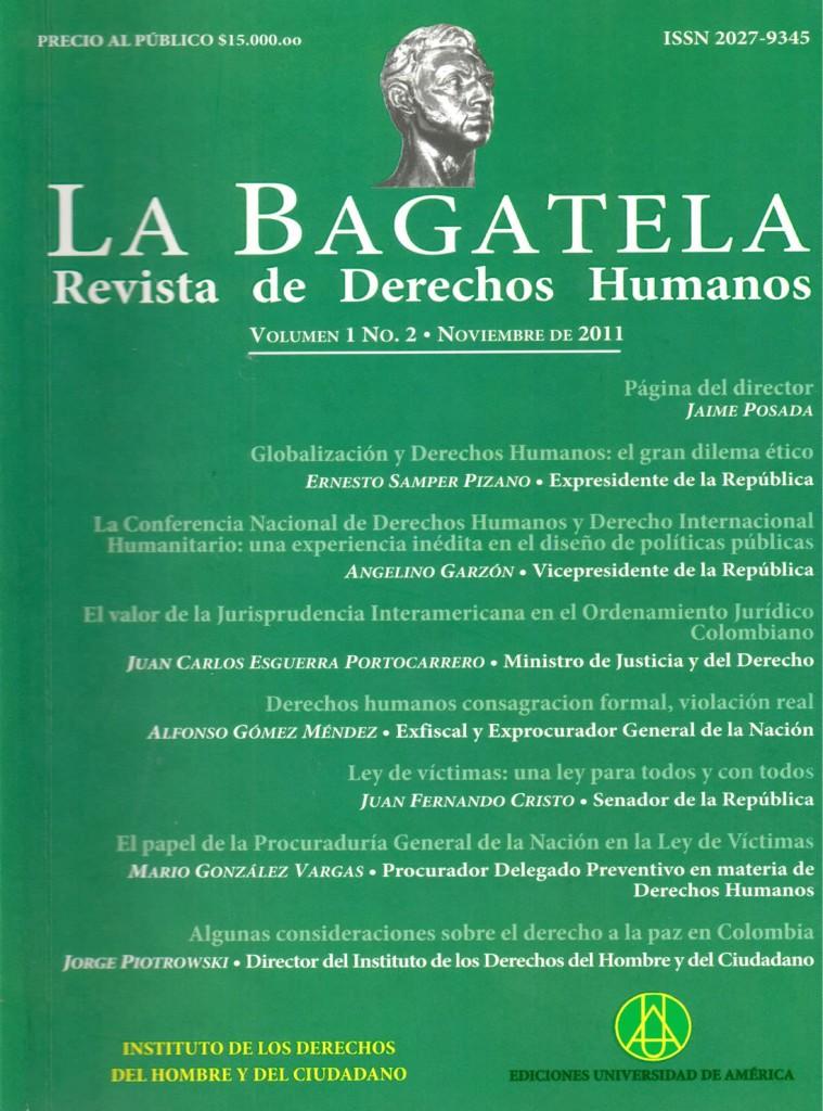 Vol.1 No.2 Noviembre 2011