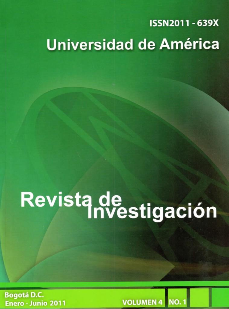 Vol.4 No.1 Enero – Junio 2011