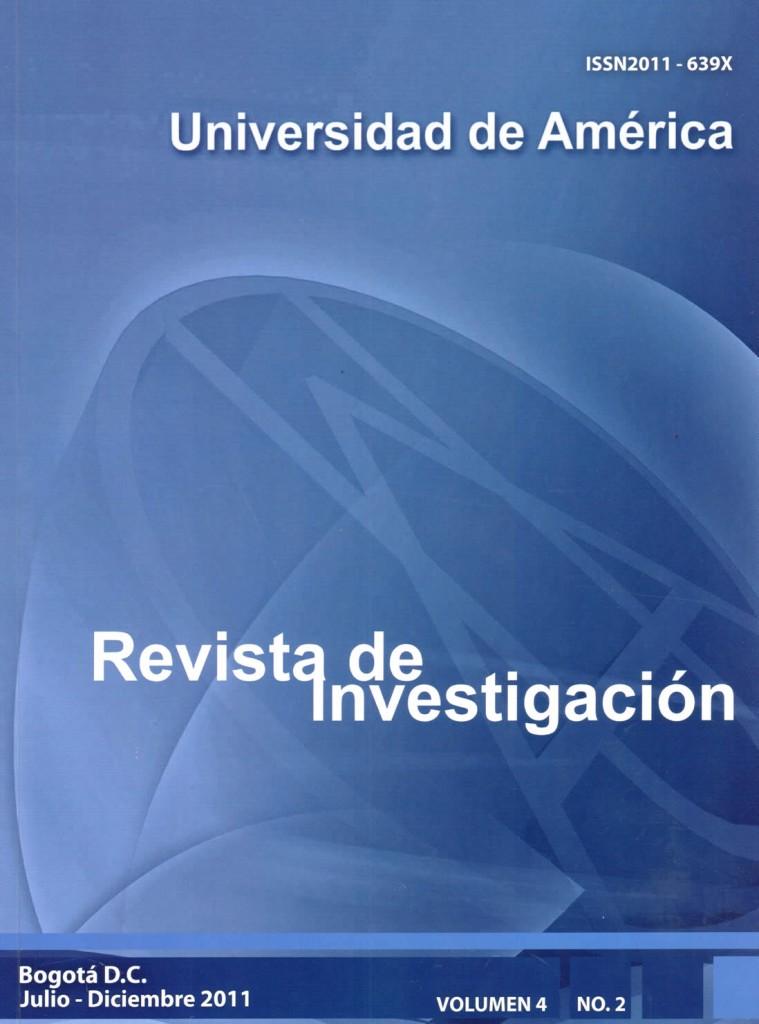 Vol.4 No.2 Julio – Diciembre 2011