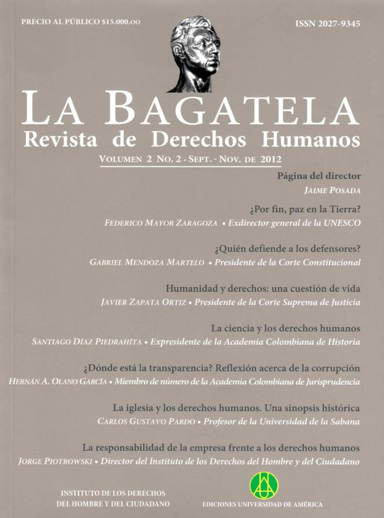 Vol.2 No.2 Septiembre – Noviembre 2012