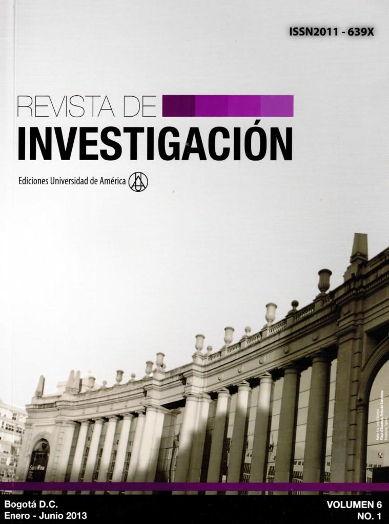 Vol.6 No.1 Enero – Junio 2013