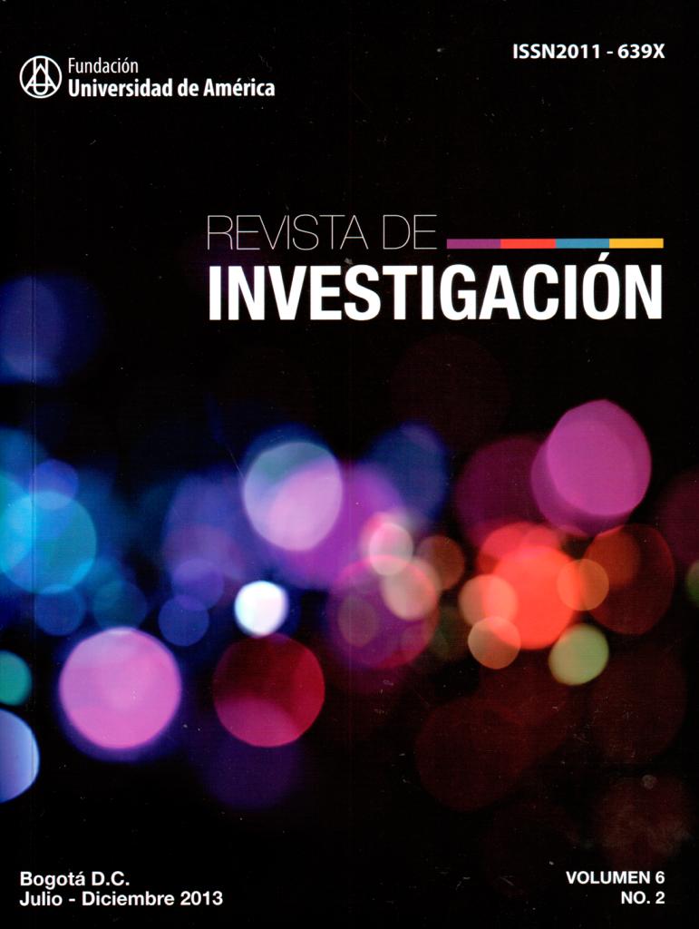 Vol.6 No.2 Julio – Diciembre 2013