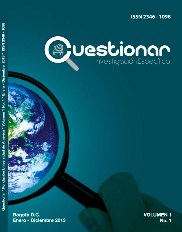 Vol.1 No.1 Enero – Diciembre 2013