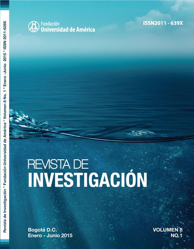 Vol.8 No.1 Enero – Junio 2015