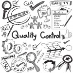 52658992 - quality control in manufacturing industry production and operation handwriting doodle sketch design tools sign and symbol in white isolated background paper for engineering management education presentation or introduction with sample text, create by vect