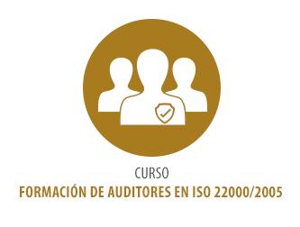 CURSO FORMACIÓN DE AUDITORES EN ISO 22000/2005