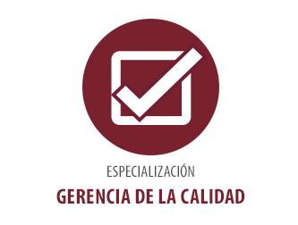 GERENCIA DE LA CALIDADNo. Registro SNIES: 15354Costo Total para Estudiantes Nuevos (2016): $ 16.580.000