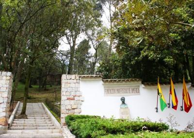 ENTRADA PRINCIPAL AL EcoCAMPUS DE LOS CERROS
